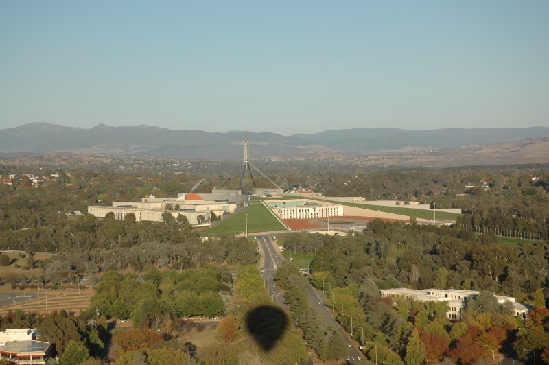 ballooning in canberra